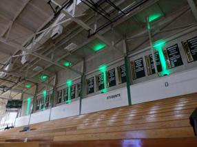 Up Lighting in Field House