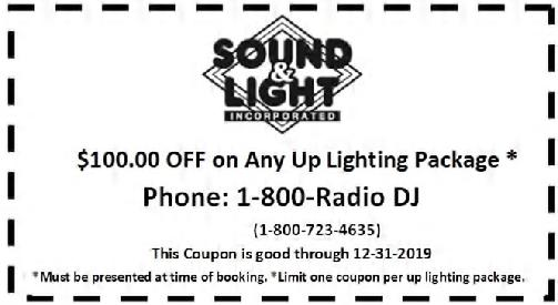 Up Lighting Coupon
