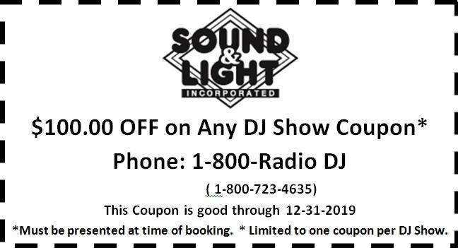 Coupon for Sound and Light